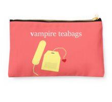 Vampire Teabags (White2) Studio Pouch