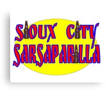 Sioux City Sarsaparilla Canvas Print