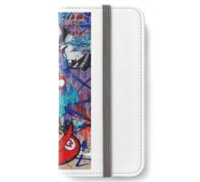 Super Mario Banksy Art London Police Street Graffiti Phone Cover iPhone Wallet/Case/Skin