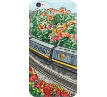 Train Illustration iPhone Case/Skin