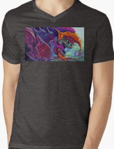 Hyper Beast  Mens V-Neck T-Shirt