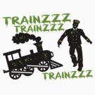 Zombie Train Conductor by FireFoxxy
