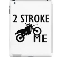2 Stroke Me Dirt Bike iPad Case/Skin