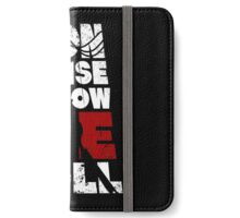 Nonsense is how we roll! iPhone Wallet/Case/Skin