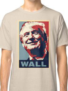 Trump Wall Stencil Classic T-Shirt