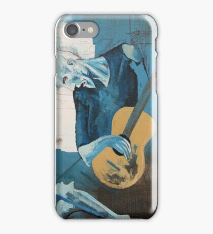 The Old Guitarist: A Picasso Study iPhone Case/Skin