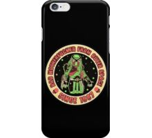 Bad Mofo from Outer Space Vintage iPhone Case/Skin
