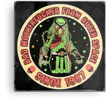 Bad Mofo from Outer Space Vintage Metal Print