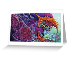 Counter Strike Global Offencive Hyper Beast Greeting Card