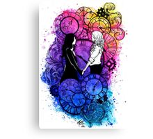 Time Led Me To You Canvas Print