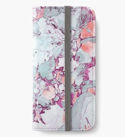 Marble Art V13 #redbubble #pattern #home #tech #lifestyle iPhone Wallet