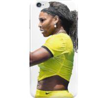 Digital Painting of Serena Williams iPhone Case/Skin
