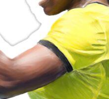 Digital Painting of Serena Williams Sticker