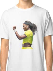 Digital Painting of Serena Williams Classic T-Shirt