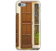 The woods, reflected iPhone Case/Skin