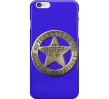 Tombstone Sheriff iPhone Case/Skin