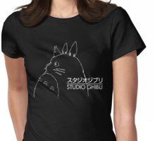 Studio Ghibli Inspired Totoro Womens Fitted T-Shirt