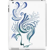 Look me in the face iPad Case/Skin