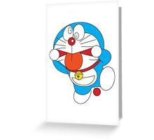 Doraemon Crazy Face Greeting Card