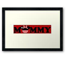 Mommy Minnie Framed Print