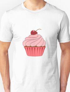 Pink Cupcake Unisex T-Shirt