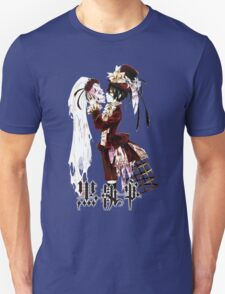 ciel kissing the skull black butler T-Shirt