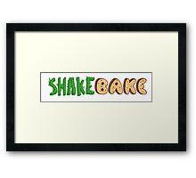 Shake and Bake Framed Print