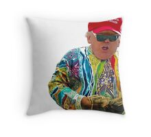 Donald Smalls Throw Pillow