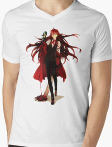 grell loves his blood Mens V-Neck T-Shirt