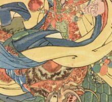 Man vs. Dragon Sticker