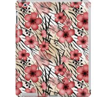 Seamless floral patterns backgrounds  iPad Case/Skin