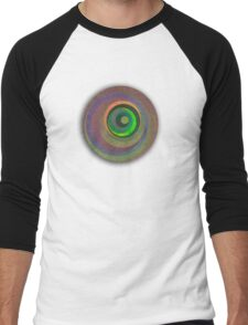 Sweet Swirls 2 Men's Baseball ¾ T-Shirt