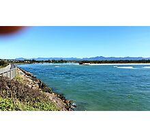 Down by the sea / Urunga NSW, Mid North Coast Photographic Print