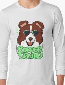 BORDER SQUAD (chocolate) Long Sleeve T-Shirt