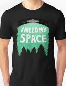 I Need My Space (Color) Unisex T-Shirt