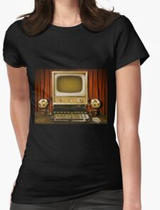 Vintage Computer Womens Fitted T-Shirt