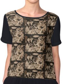 My Guernica: A Picasso Study Chiffon Top