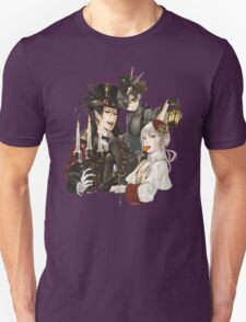 spooky black butler design T-Shirt