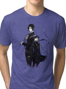 sebastian and ciel back to back  Tri-blend T-Shirt