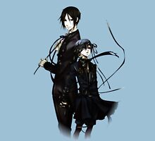 sebastian and ciel back to back  T-Shirt