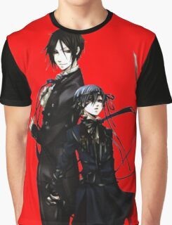 sebastian and ciel back to back  Graphic T-Shirt
