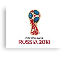 World Cup Russia 2018 Canvas Print
