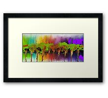 "Abstract series ""Autumn"" Framed Print"