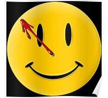 Watchmen Smiley Poster