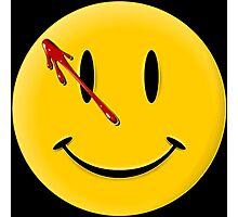 Watchmen Smiley Photographic Print