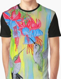 J Humming Bird Graphic T-Shirt