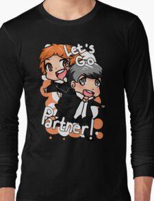 Let's Go Partner! - Persona 4 Long Sleeve T-Shirt