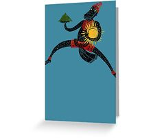 Hanuman's Leap Greeting Card