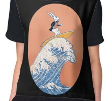 White Rabbit Surfing Chiffon Top