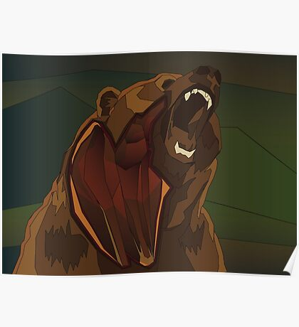 Strength of a Bear Poster